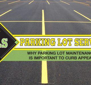 Parking lot curb appeal