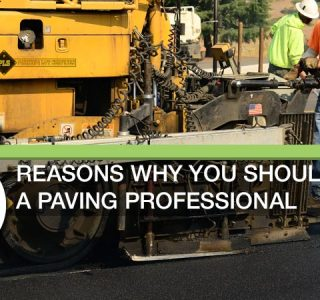 Why you should hire a paving professional