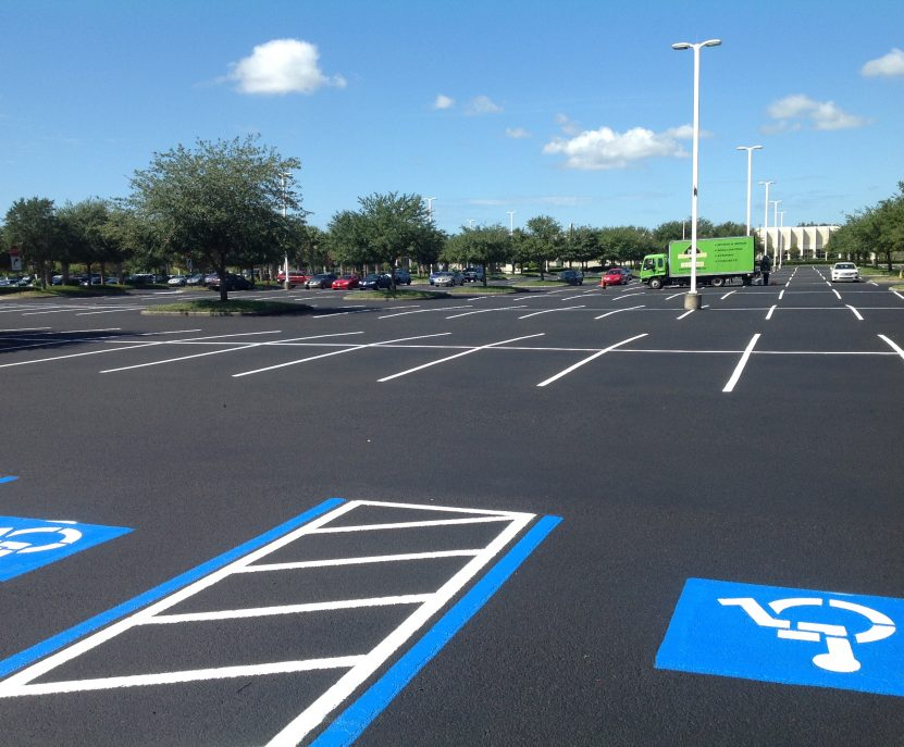 Parking Lot Paving in Tampa by PLS