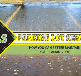 maintain your parking lot before flooding occurs
