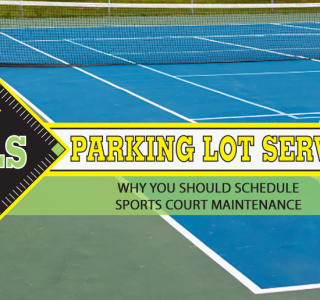Banner - Why you should schedule sports court maintenance