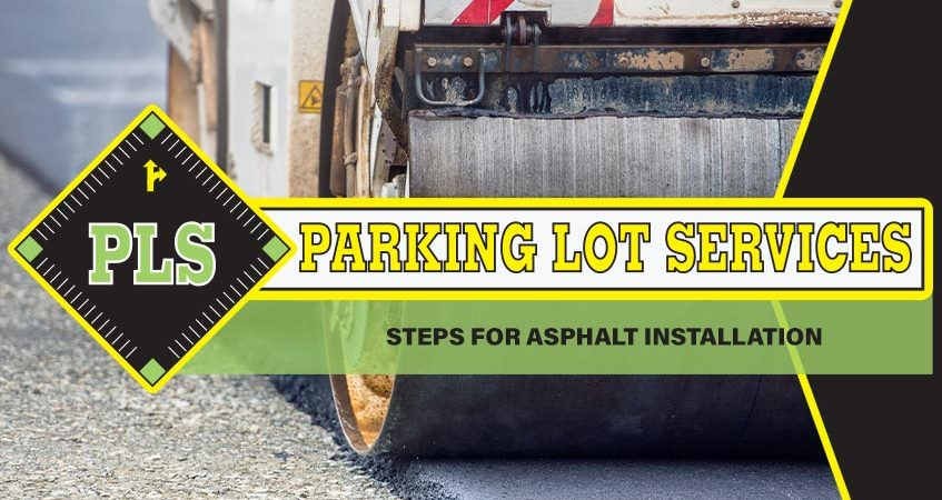 Asphalt-Installation